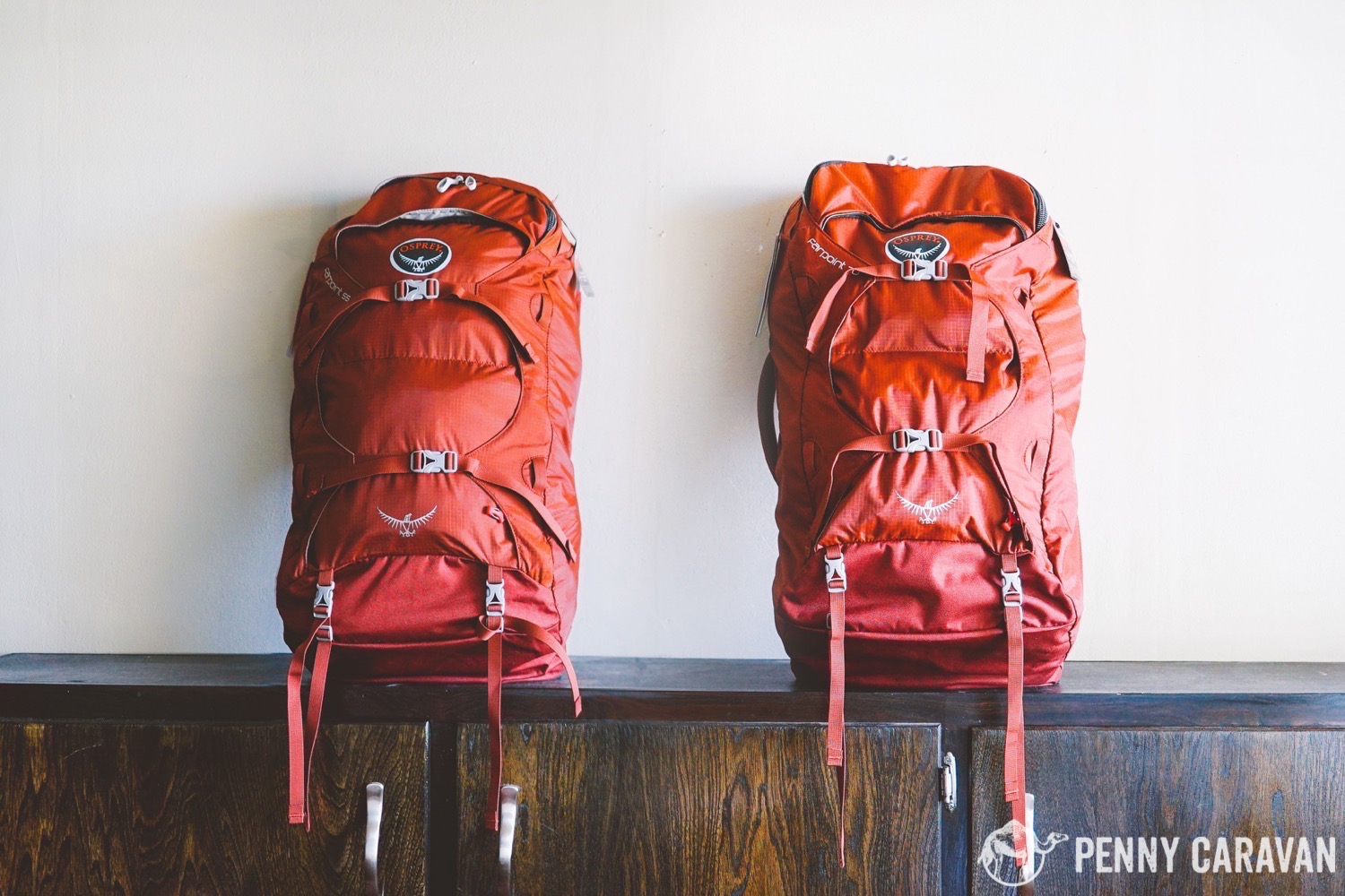 comparing the osprey farpoint 55 and farpoint 70 travel backpacks penny caravan. Black Bedroom Furniture Sets. Home Design Ideas